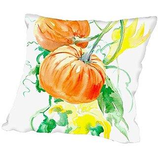 American Flat Pumpkins Pillow by Suren Nersisyan, 16