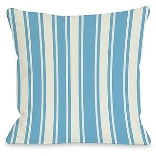 Bentin Home Decor Tri-Stripes Throw Pillow by OBC, 20