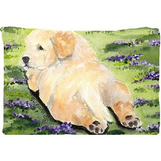 Carolines Treasures SS8833PILLOWCASE Golden Retriever Moisture Wicking Fabric Standard Pillowcase, Large, Multicolor