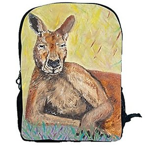 Kangaroo Backpack, Kanagroo Book Bag - Support Wildlife Conservation - Read How