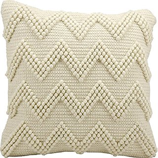 Mina Victory by Nourison DC173 Ivory Decorative Pillow, 14