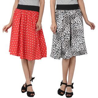 Mainsa Crepe A-Line Skirt