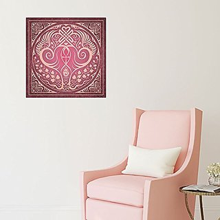 My Wonderful Walls Soul Mates Wall Decal in Pink by Cristina McAllister (L)