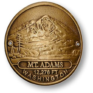 Mt. Adams Hiking Stick Medallion