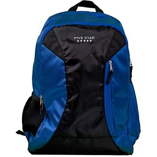 Five Star Backpack Sidekick, Holds 16 Inch Laptop, Blue (72388)