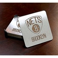 NBA Brooklyn Nets Boasters, Heavy Duty Stainless Steel Coasters, Set Of 4