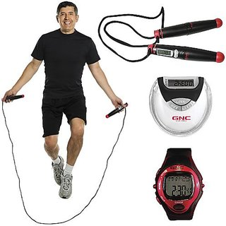 GNC Home Gym Fitness Kit: Essentials to Track Your Workout Progress At Home!,