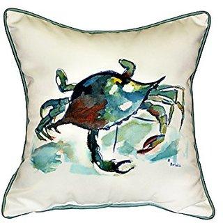 Betsy Drake Betsys Crab Pillow, 18