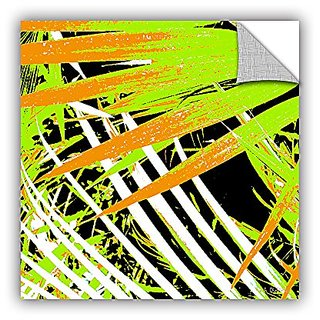 ArtWall Herb Dickinsons Palms Away III Art Appeelz Removable Graphic Wall Art, 14 x 14