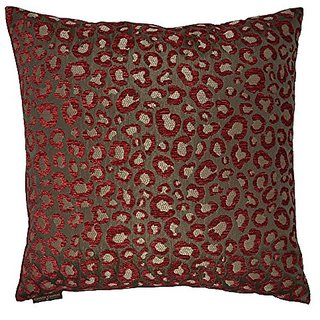 Van Ness Studio Sarafina Decorative Throw Pillow, Wine