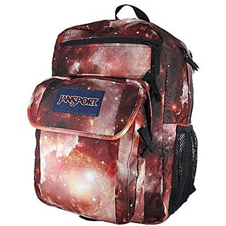 Jansport Digital Student Multi Red Galaxy Backpack
