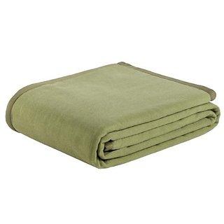 Zambaiti Easy Cashmere Twin Blanket, Clover