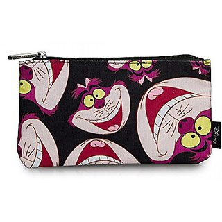 Loungefly Cheshire Cat Face All Over Print School Pencil Case