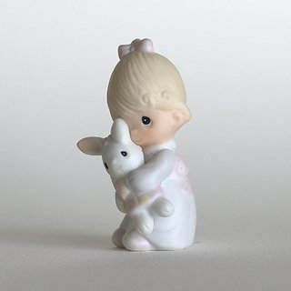 Precious Moments Figurine ~ Jesus Loves Me #E-9279