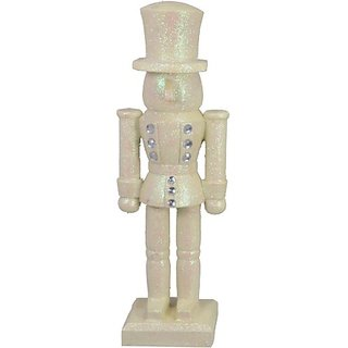 Fantastic Craft Nutcracker Figurine, 14-Inch, White