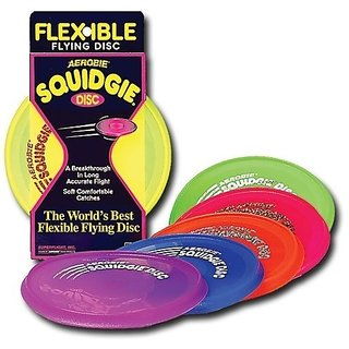 Aerobie Squidgy Disc, Set of 4 Assorted Colors