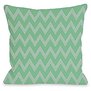 Bentin Home Decor Emily Tier Chevron Throw Pillow w/Zipper by OBC, 16