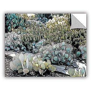 ArtWall Linda Parkers Botanical Garden Appeelz Removable Graphic Wall Art, 36 by 48