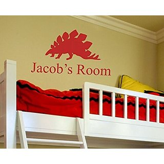 Alphabet Garden Jacobs Room Personalized Jonathan Wall Decal, 28