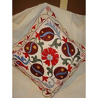 Tribal Asian Textiles Kantha Cushion Cover Handmade Cotton Pillow Case Home Decor 013