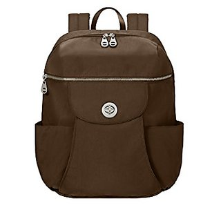 Baggallini Capetown Travel Backpack, Mocha, One Size