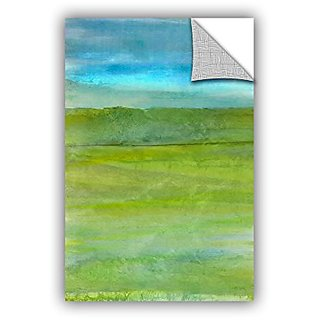 ArtWall Cora Nieles Landscape Iceland Appeelz Removable Graphic Wall Art, 32 by 48
