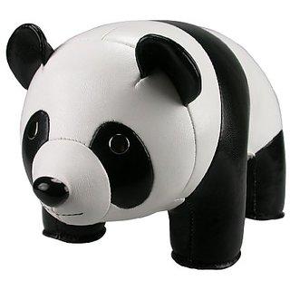 Zuny ZCBV0614WHT Classic White Panda Bookend