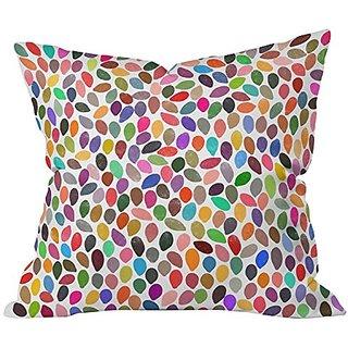 DENY Designs Garima Dhawan Rain 13 Throw Pillow, Extra Large/26 x 26