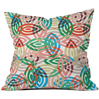 DENY Designs Khristian a Howell Isla Throw Pillow, 16 by 16-Inch