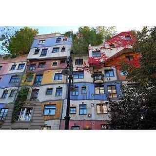 Wallmonkeys Austria Vienna - Hundertwasser House - 24