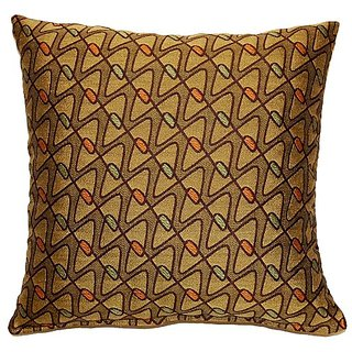 Dakotah Mini Bowtie Forest Knife Edge Pillows, 17-Inch, Set of 2