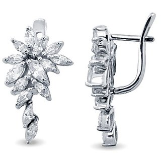 Karats Silver925 Earring in Marquise Collection - Option 8