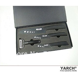 YARCH Ceramic knife 4pc Gift Set (3