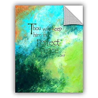 ArtWall Herb Dickinsons Perfect Peace Art Appeelz Removable Graphic Wall Art, 24 x 32