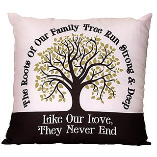 Spoontiques Family Tree Pillow