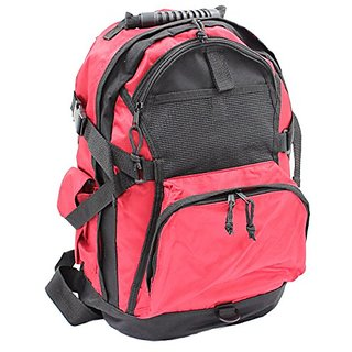 World Traveler Ultimate Gear Backpack, Red, One Size