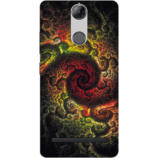 LENOVO K5 NOTE DESIGNER HARD PLASTIC (MATT FINISH) BACK COVER CASE FROM CUSTOMIZE GURU