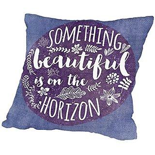 American Flat Something Beautiful Pillow by Mia Charro, 20