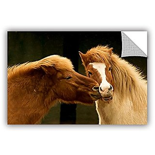 ArtWall Lindsey Janich Hugz for 2014 Appeelz Removable Graphic Wall Art, 24 by 36