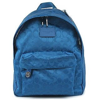 COACH Small Backpack In Nylon 35033 in Bright Mineral