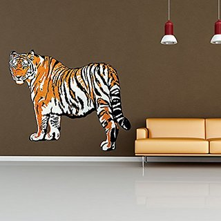 Style and Apply Tiger Wall Decal