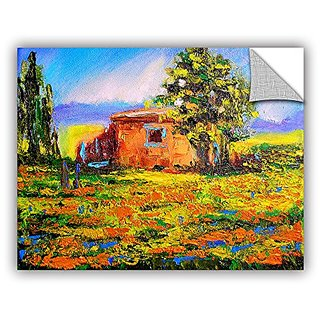 ArtWall Susi Francos Prarie Palace Art Appeelz Removable Graphic Wall Art, 36 by 48