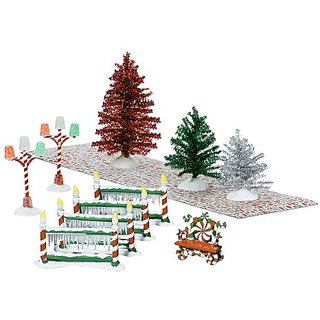 Department 56 Winter Wonderland Landscape Set