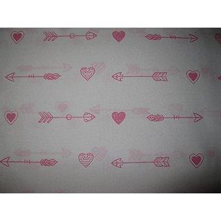 Isaac Mizrahi Pink Hearts and Arrows Sheet Set 3 Piece Twin