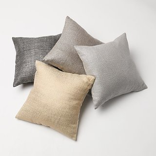 Metallic Weave Pillow Cover- 18
