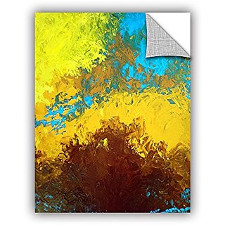 ArtWall Herb Dickinsons Abstract 419 Art Appeelz Removable Graphic Wall Art, 14 x 18