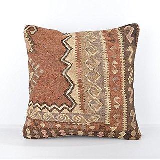 Wool Pillow, KP1007, Kilim Pillow, Decorative Pillows, Designer Pillows, Bohemian Decor, Bohemian Pillow, Accent Pillows