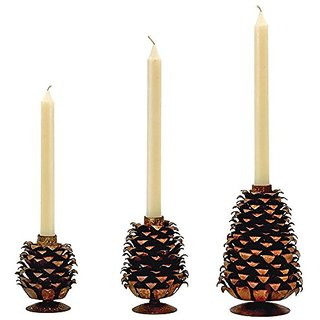 Go Home Progressing Pinecones Figurine