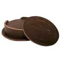 Duluth Pack Leather Coaster (Set Of 6), Brown, 3.75 X 3.75-Inch