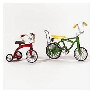 Department 56 Village Bicycle and Tricycle